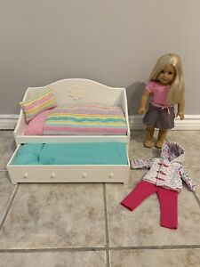 American Girl Doll & Bed