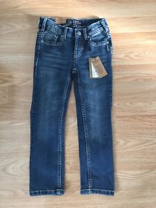 Girls size 5 Silver jeans