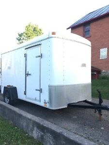 6x12 Enclosed Trailer with ramp