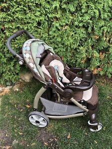 Graco Stylus Click Connect Travel System Stroller, Winslet