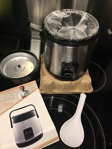 Wolfgang Puck 1.5 cup Rice Cooker - NEW