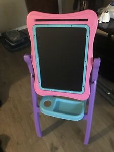 Childrens art easel