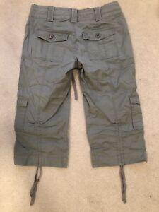Capri pants. Grey. Size small.