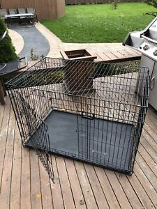 Cage a gros chien (65 a 125 lbs)