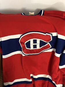 Montreal Canadians authentic jersey
