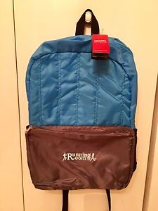 New with tags Running Room back pack