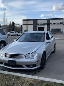 2005 Mercedes C55 AMG 5.4L V8 158kms Active $7600