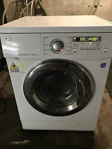 LG 7.5KG SMART WASHER/DRYER COMBO FREE DELIVERY&WARRANTY Parramatta Parramatta Area Preview