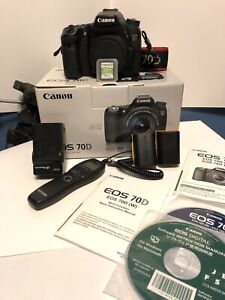 Canon 70D package