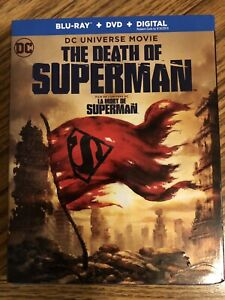 NEW BLU-RAY The Death of Superman
