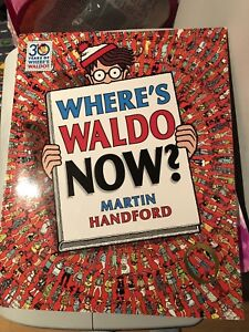 Where's Waldo book . No marks no rips