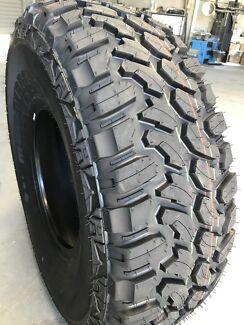 New 285/70R17 mud terrain tyres