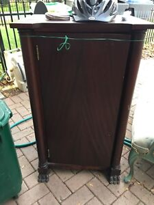 Antique clawfoot sheet music stand