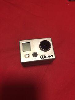 GoPro Hero + accessories