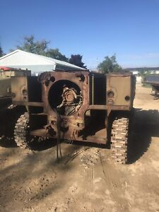 WWII high speed tractor