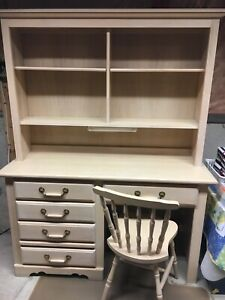 Children's Desk and Chair - Solid Wood