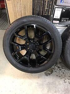 4 mags 22 pouces avec pneus 305/40/22 6x139.7