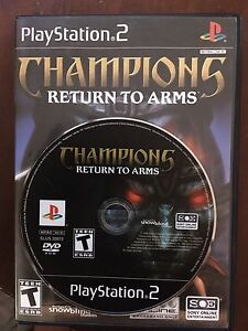 Champions Return To Arms PS2 ** RARE