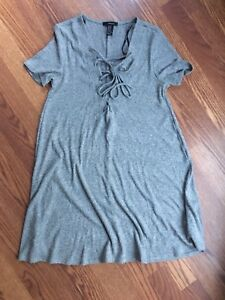 Grey Forever 21 Dress size Medium