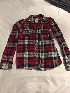 Plaid flannel shirt from Garage