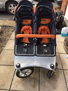 Valco Runabout Tri-mode Twin Double Stroller