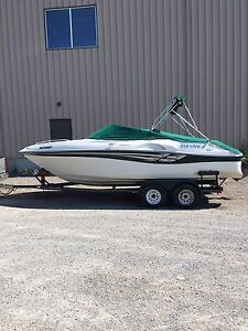 Awesome Boat Includes Trailer. Trade for Bass Boat