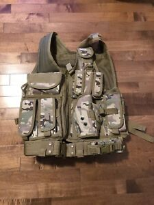 Tactical vest for airsoft, paintball outdoor etc.