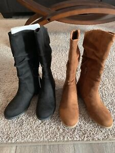 Girls Size 2 Boots - New