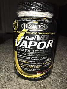 MUSCLETECH NaNo Vapour & Amp protein (expired)