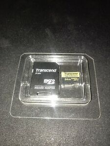 Transcend Information 64GB High Endurance MicroSD Card