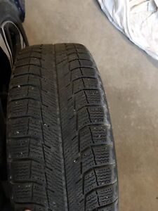 215/16 R 16 * 4 MICHELIN WINTER TIRES WITH RIMS*