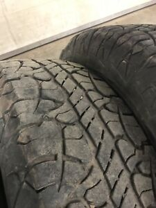 LT 245 75 16 bfg rugged terrain tires
