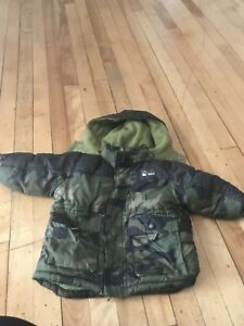 Toddler name brand snow suit