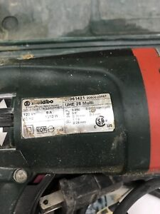Metabo electric drill with hammer