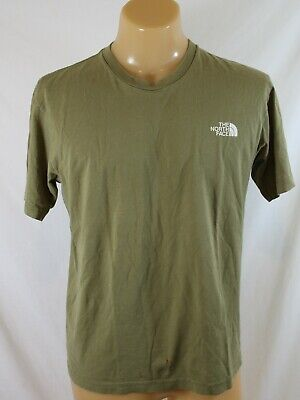 The North Face Olive Green Men's T-Shirt ~ Size Medium M