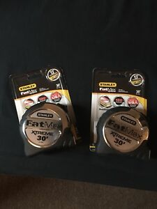 Stanley Fat Max Xtreme 30' measuring tape