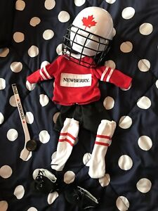 "Hockey Outfit for AG or Other 18"" Doll"
