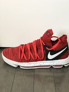 KD 10 Red Velvet Basketball Shoes (Limited Edition)