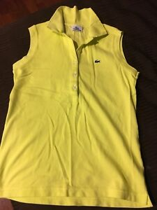 Polo Lacoste size small Yellow