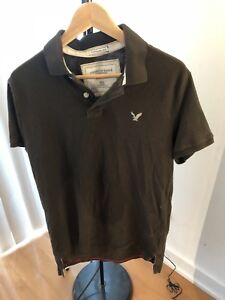Vintage American Eagle Muscle Fit Polos