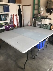 3 fold up tables