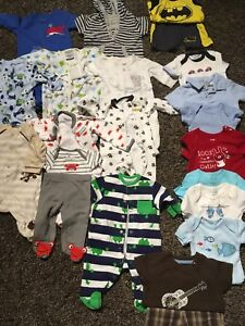 Carters Boys Clothing - 0-3 Months