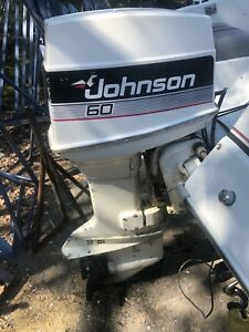 Johnson 60 hp outboard motor forsale  #OBO#