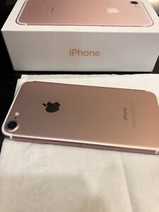 IPHONE 7 ROSE GOLD, 32GB, PRICE IS FIRM!!