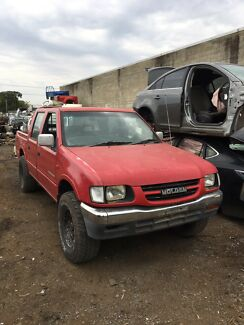 1999 Holden Rodeo For Wrecking