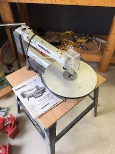Dremel 16 inch scroll saw, 2 speed