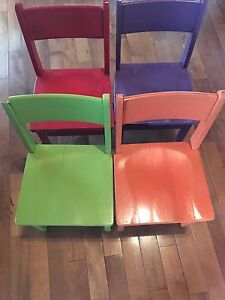 Strong and Solid Children's Chairs