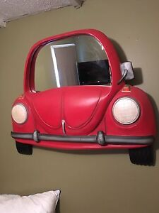 Vintage vw bug mirror