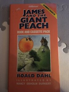 James and the giant peach book and cassette-MAKE ME AN OFFER!