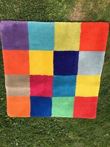 Colourful Checkered Rug